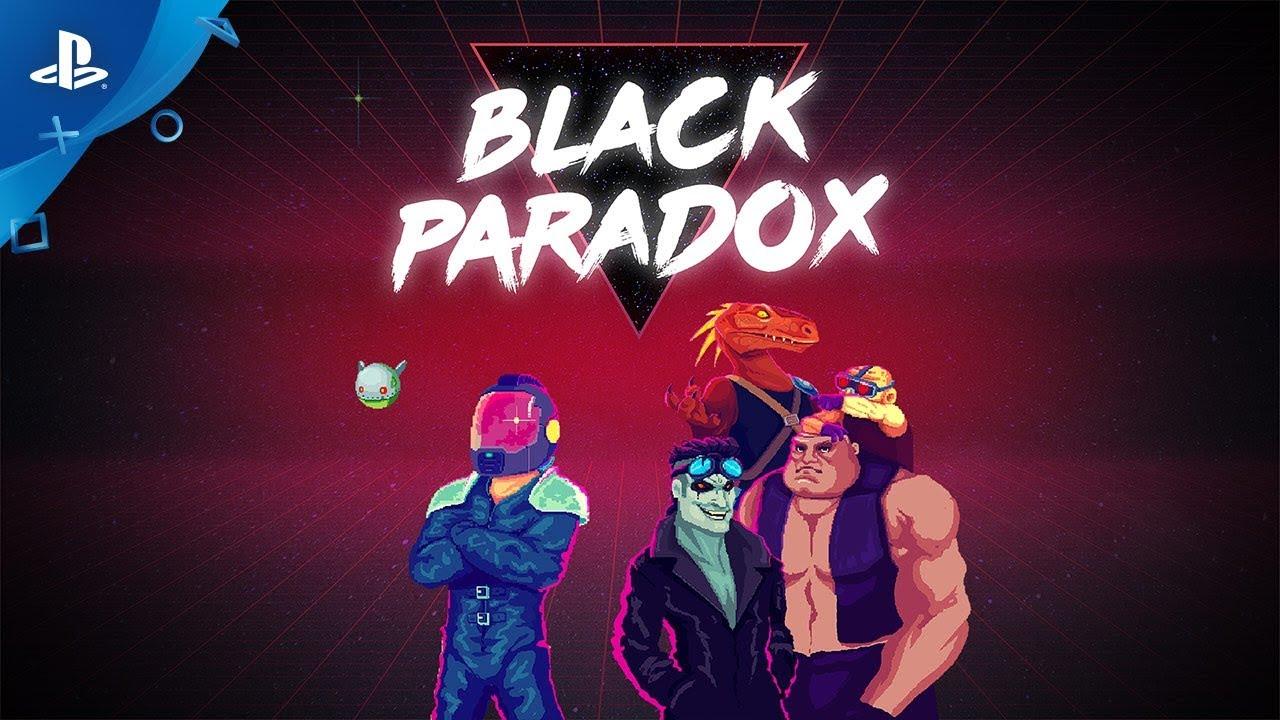 Atualização de Black Paradox: o Shoot 'Em Up Retrô Chega Amanhã