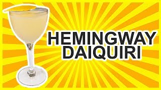 Hemingway Daiquiri Cocktail Recipe - MY FAV DAIQUIRI!