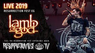 LAMB OF GOD – Resurrection Fest 2019