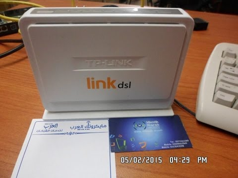 LINKDSL ROUTER TD854W اعدادات روتر شركة لينك للعمل بريدج على