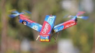 How to make Colgate Helicopter