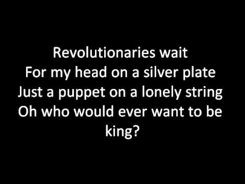 Viva la Vida Lyrics - Coldplay