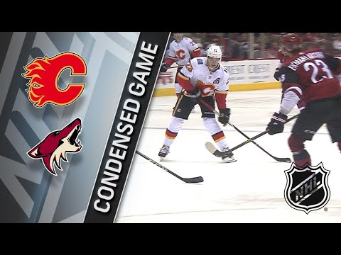 02/22/18 Condensed Game: Flames @ Coyotes