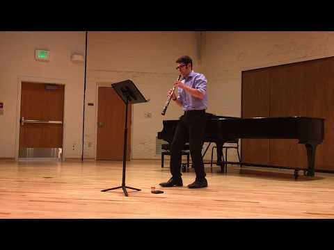 This performance was part of an honor's recital at the Music in the Mountains Conservatory in Durango, CO in the summer of 2016.