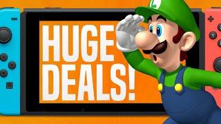 LOWEST PRICE EVER!  BIG Nintendo Switch Games Sale! (Nintendo eShop Deals and Sales)