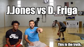 Reacting to OUR 1V1| J.Jones VS FRIGA ! | Here\'s the truth...