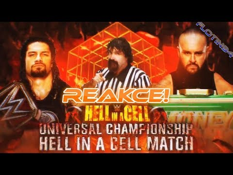 WWE Hell in a Cell 2018 - Universal Championship Roman Reigns vs Braun Strowman REACTION