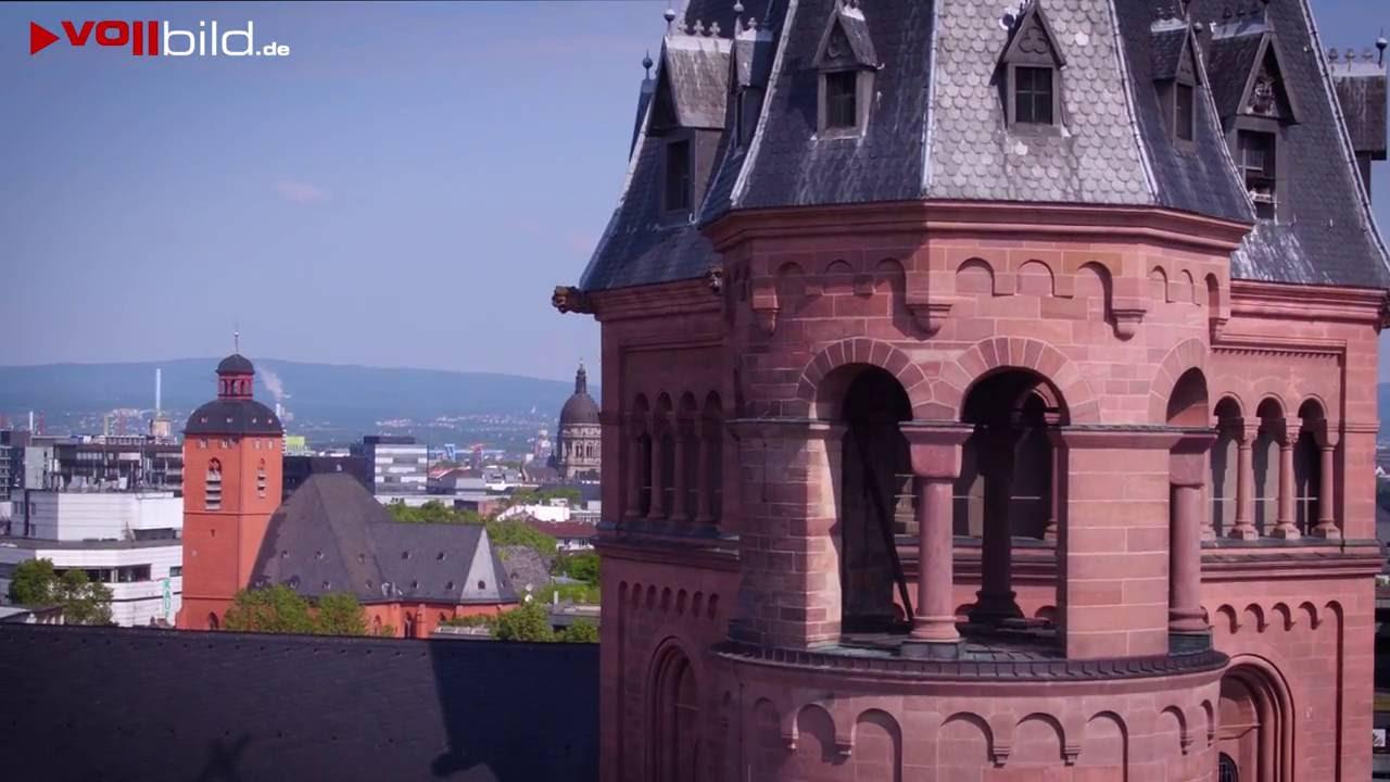 Flugaufnahmen - Mainzer Dom St. Martin
