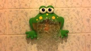 BUBBLE MAKER CRAB FROG TOY BUBBLE CRAB KEROPPI MUSIC MACHINE