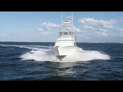 Bertram Sport Fisherman video