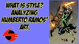 What Is Style? Analyzing Humberto Ramos Art