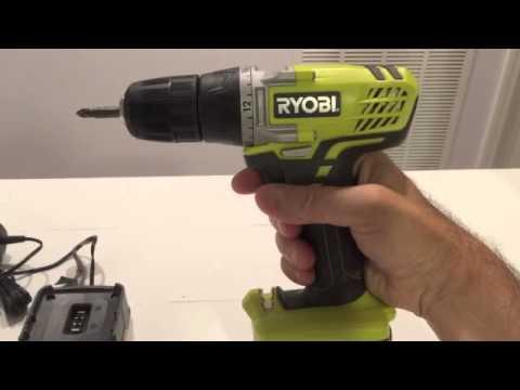 Ryobi 12V Cordless Drill Review ★★★  Ryobi Cordless Screwdriver