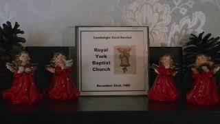 How Great Our Joy - Royal York Baptist Church Choir - 1985-12-22
