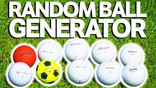 The Random Golf Ball Challenge | GM GOLF