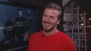 David Beckham Says He's Totally Powerless When it Comes to Daughter Harper