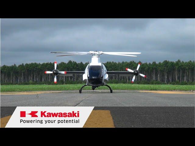Kawasaki активно разрабатывает необычный скоростной вертолет K-Racer