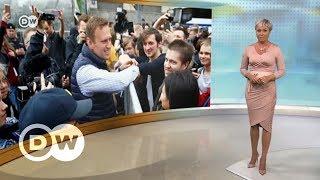 Кто придет на акцию Навального на Тверской накануне инаугурации Путина - DW Новости (03.05.2018)