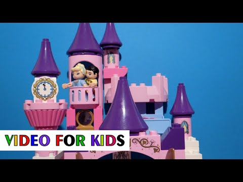 Vidéo LEGO Duplo 6154 : Le château de Cendrillon
