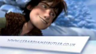 Gerard Butler in How to train your Dragon The Olympics Sports Film Trailer Full version