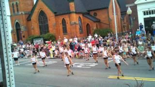 Cherry Festival parade 2012 flash mob - with Bella Salon & Day Spa