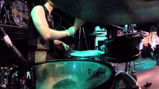 Aborted - The Extirpation Agenda - Ken Bedene - Drum-Cam
