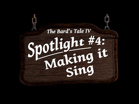 The Bard's Tale IV: Barrows Deep Spotlight #4 - Music thumbnail