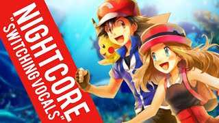 Nightcore | God is a Girl ✗ Pika Girl (Switching Vocals)
