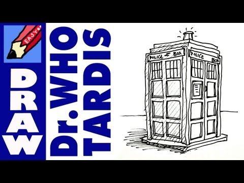 how to draw Doctor Who s TARDIS