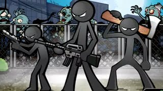Anger Of Stick 5 - Stick War Zombie Games - Android Gameplay HD
