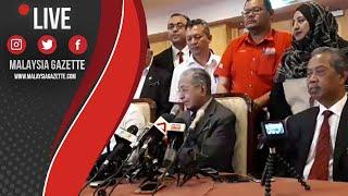 MGTV LIVE | Sidang Media Mesyuarat Majlis Pimpinan Tertinggi di Yayasan Kepimpinan Perdana