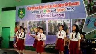 Berkibarlah Merah Putihku @ SD Xaverius 2 Palembang