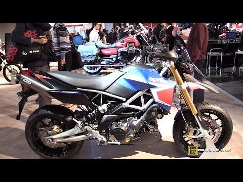2015 Aprilia Dorsoduro 750 - Walkaround - 2014 EICMA Milan Motorcycle Exhibition