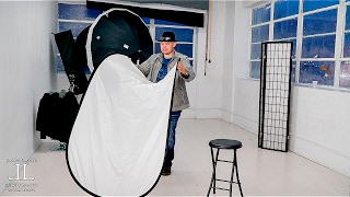 How to Quickly and Easily Fold a Rectangular Reflector, Diffuser or Modifier!