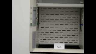 4′ Labconco Protector Laboratory Fume Hood with Epoxy Tops and Base Cabinets (H275)