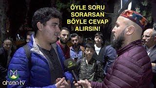 Ahsen Tv Muhabiri Sonunda Sert Kayaya Çattı! Karşısında Konuşamadı