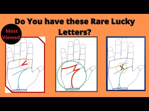 Rare Lucky Signs M, X, V in Your hand Palm Palmistry | Sudden wealth Lines |Sai Suvajit Astrologer