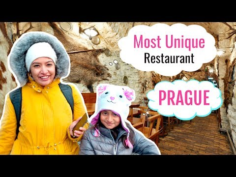 I Tried MOST UNIQUE Restaurant Food In Prague | #MyMissAnand #CookWithNisha