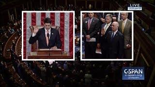 Greg Gianforte is sworn into the House of Representatives (C-SPAN)
