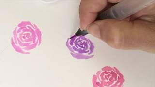 UCHIDA  1122【雙頭】漫畫筆   教學影片1
