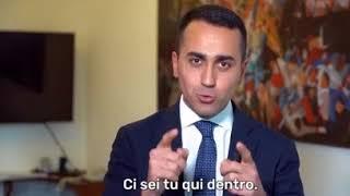 """Luigi Di Maio: """"È UN MOMENTO STORICO!"""" (18 maggio 2018)"""