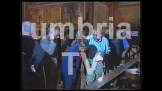 preview picture of video 'Video e audio originale del crollo della Basilica di Assisi del 26 settembre 1997'