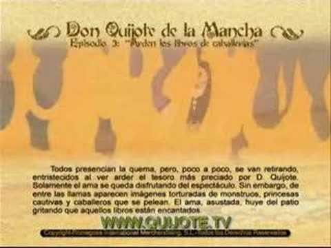 Videocuento Epis.#03 Resumen DON QUIJOTE DE LA MANCHA (1979) - QUIXOTE