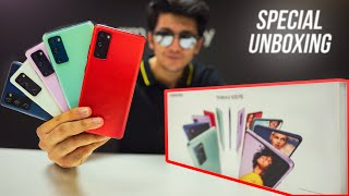 Samsung Galaxy S20 FE 5G Special Unboxing & First Look! (ALL COLORS)