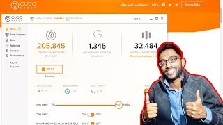 Earn Free Bitcoins by Mining - 10,000 Satoshi SignUp Bonus - Cudo Miner Review India- Techie SDS