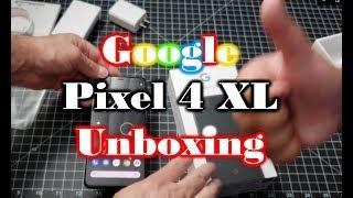 Google Pixel 4 XL Unboxing Just Black