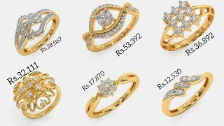 Latest Diamond Rings Designs With PRICE