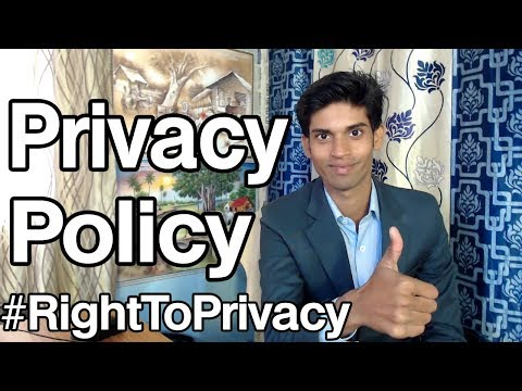 , title : 'Privacy Policy of any website while you are visiting you must know about this.'