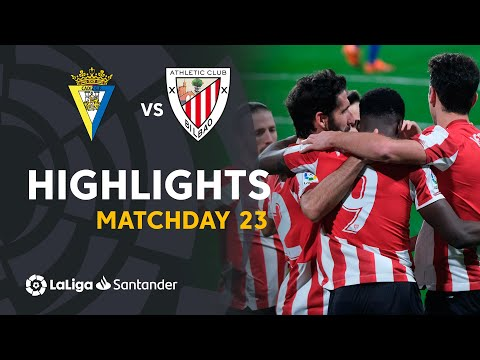 Highlights | Cádiz CF 0-4 Athletic Club (LaLiga Matchday 23)