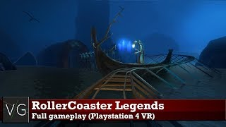 RollerCoaster Legends (PSVR) - full gameplay. No commentary.