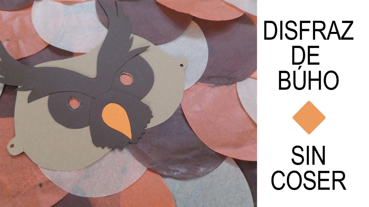 Disfraz Búho | Fácil sin costuras | DIY | Carnaval